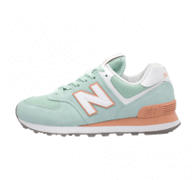cheap for discount 77a71 cba0d New Balance WL574 ESE White Agave