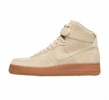 Nike Women's Air Force 1 Hi SE Muslin/Gum-Ivory