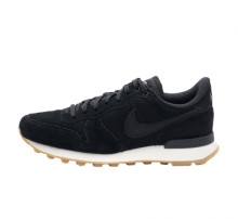 Nike Women's Internationalist Black/Deep Green-Gum