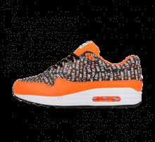 Nike Air Max 1 Premium Black/Total orange-White