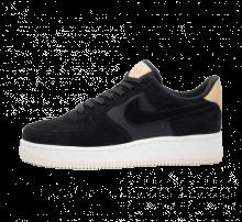 Nike Women's Air Force 1 '07 Premium Black/Summit White-Light Cream