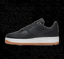 Nike Women's Air Force 1 '07 Premium Off Noir/Metallic Silver