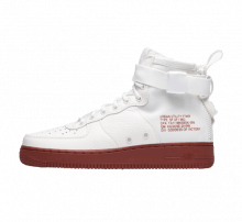 Nike SF Air Force 1 Mid Ivory/Mars Stone