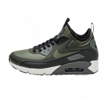 Nike Air Max 90 Ultra Mid Winter Sequoia/Medium Olive-Black