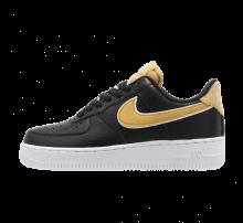 Nike Women's Air Force 1 '07 SE Black/Wheat Gold