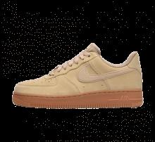 Nike Air Force 1 '07 LV8 Suede Mushroom-Gum Medium Brown-Ivory