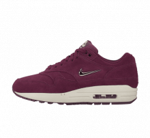 Nike Women's Air Max 1 Premium SC Jewel Bordeaux/Blur-Bio Beige