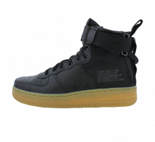 Nike Women's SF Air Force 1 Mid Black/Gum