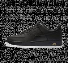 Nike Air Force 1 '07 Black/Summit White-Metallic Gold