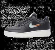 Nike Women's Air Force 1 '07 SE Premium JP Oil Grey/Bright Crimson-Obsidian Nist
