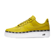 Nike Women's Air Force 1 '07 SE Premium Bright Citron/Black-White