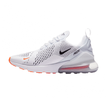 Nike Air Max 270 White/Black-Total Orange