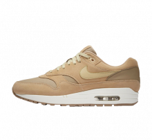 Nike Air Max 1 Premium Leather Khaki/Team Gold-Mushroom