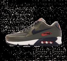 Nike Air Max 90 Essential Medium Olive/Black-Team Orange