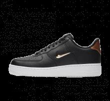 Nike Air Force 1 '07 LV8 Leather Black/Metallic Gold-White