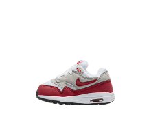 Nike Air Max 1 QS (td) White/University Red-Neutral Grey-Black