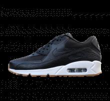 Nike WMNS Air Max 90 PRM LEA Black/Black-Dark Grey-Ivory