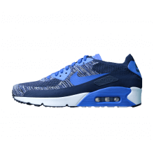 Nike Air Max 90 Ultra 2.0 Flyknit College Navy/Paramount Blue-White-Black