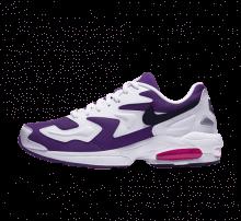 Nike Air Max2 Light White/Black-Court Purple-Hyper Pink