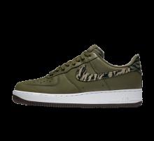 Nike Air Force 1 AOP Premium Medium Olive/Khaki-Velvet Brown