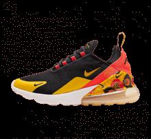 Nike Women's Air Max 270 SE Black/University Gold-Bright Crimson
