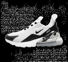 Nike Women's Air Max 270 SE White/Black-Metallic Silver