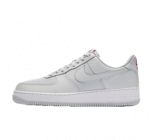 Nike Air Force 1 '07 Pure Platinum/University Red-White