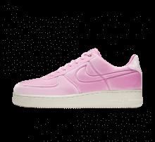Nike Air Force 1 '07 Premium Velvet Pink Rise/Sail-Metallic Gold