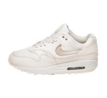 Nike Women's Air Max 1 JP Pale Ivory/Summit White-Guava Ice