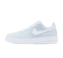 separation shoes abd8d 297d7 Nike Air Force 1 Flyknit 2.0 White Pure Platinum