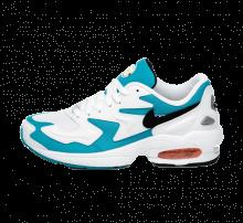 Nike Air Max2 Light White/Black/Blue Lagoon/Laser Orange