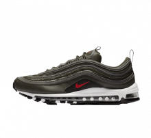 Nike Air Max 97 Sequoia/University Red-Metallic Dark Grey