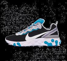 Nike React Element 55 SE Black/Pure Platinum-Wolf Grey