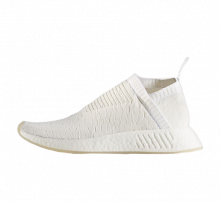 Adidas Women's NMD City Sock 2 Primeknit Triple White