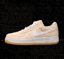 meet dcda7 0333a Nike Air Force 1  07 Premium Light Cream White-Crimson Tint
