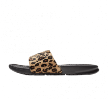 buy online f363c 6ea9b Nike Women s Benassi Just Do It Leopard Desert Ore Black