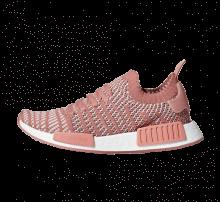 Adidas Women's NMD R1 STLT Primeknit Ash Pink/Orchid Tint-Footwear White