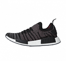Adidas NMD R1 STLT Primeknit Core Black/Grey-Solar Pink