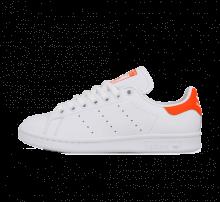Adidas Women's Stan Smith White/Solar Orange