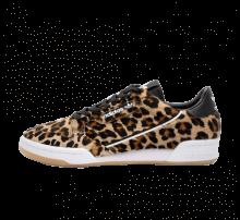 Adidas Continental 80 Leopard Core Black/Footwear White