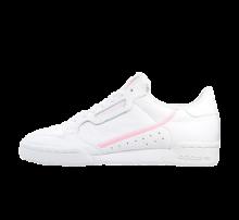 Adidas Women's Continental 80 Footwear White/True Pink