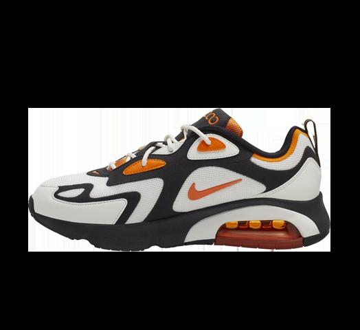 Nike Air Max 200 BlackMagma Orange CI3865 004