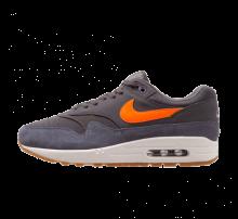 Nike Air Max 1 Thunder Grey/Total Orange-Light Carbon