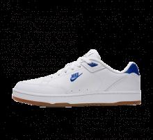 Nike Grandstand II Premium White/Hyper Royal-Gum