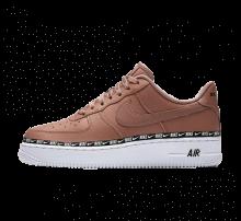 Nike Women's Air Force 1 '07 Premium Desert Dust/Black