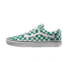 Vans Comfycush Old Skool Checkerboard Quetzal/True White