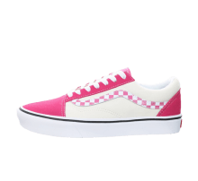 Vans Comfycush Old Skool Sidestripe Checkerboard Pink
