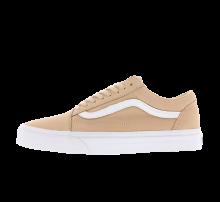 Vans Old Skool Premium Leather - Toasted Almond / True White