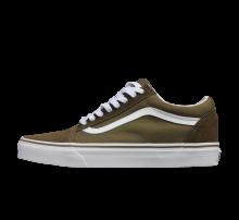 Vans Old Skool Suede Canvas - Dark Olive / True White