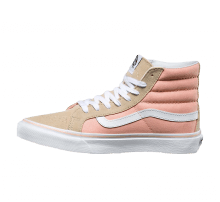Vans SK8-Hi Slim Pale Khaki/True White